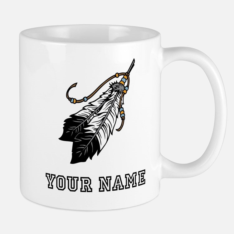 Native American Feathers (Custom) Mugs