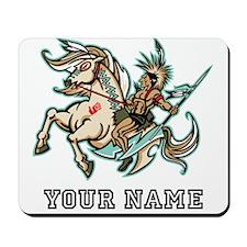 Native American Warrior (Custom) Mousepad
