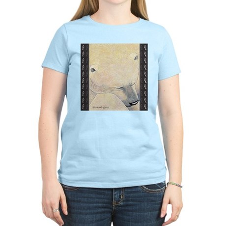 Dreamy Polar Bear Women's Light T-Shirt