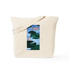 Lotus Artglass Tote Bag