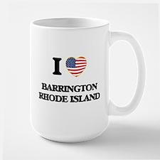 I love Barrington Rhode Island Mugs