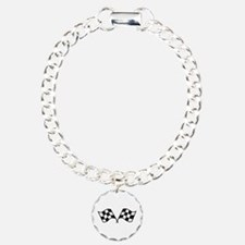 Checkered Racing Flags Bracelet