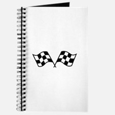 Checkered Racing Flags Journal