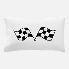 Checkered Racing Flags Pillow Case