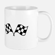 Checkered Racing Flags Mugs