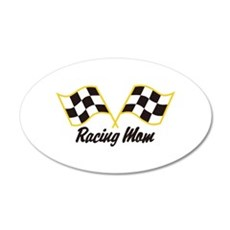 Racing Mom Wall Decal