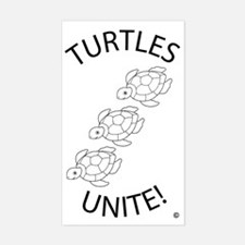 Turtles Unite  Decal