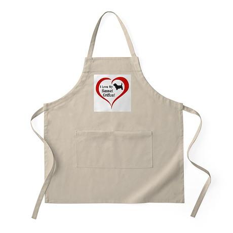 Basset Griffon BBQ Apron