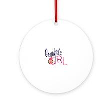 Grandpas Girl Ornament (Round)