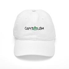 Anarcho-Baseball Capitalist Baseball Cap