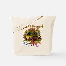 Iguana burger Tote Bag