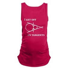 Off on a Tangent Maternity Tank Top