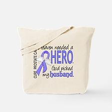 Prostate Cancer HeavenNeededHero1 Tote Bag