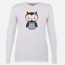School Nurse Owl T-Shirt
