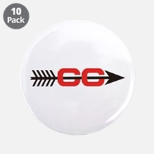 """Cross Country Logo 3.5"""" Button (10 pack)"""