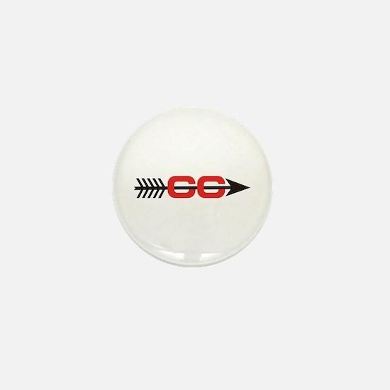 Cross Country Logo Mini Button