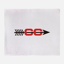 Cross Country Logo Throw Blanket