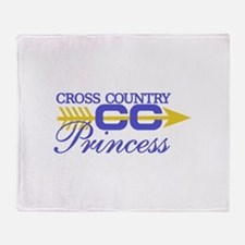 Cross Country Princess Throw Blanket