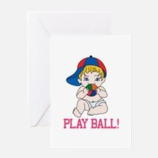 Play Ball! Greeting Cards