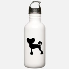 Chinese Crested Water Bottle