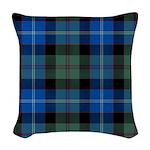 Tartan - Lochaber dist. Woven Throw Pillow