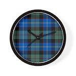 Tartan - Lochaber dist. Wall Clock