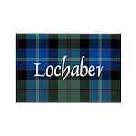 Tartan - Lochaber dist. Rectangle Magnet (10 pack)