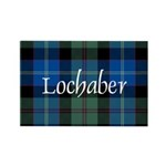 Tartan - Lochaber dist Rectangle Magnet (100 pack)