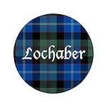 Tartan - Lochaber dist. Button