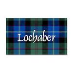 Tartan - Lochaber dist. 20x12 Wall Decal