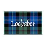 Tartan - Lochaber dist. 35x21 Wall Decal
