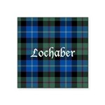 Tartan - Lochaber dist. Square Sticker 3