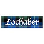 Tartan - Lochaber dist. Sticker (Bumper)