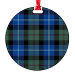 Tartan - Lochaber dist. Round Ornament