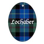 Tartan - Lochaber dist. Ornament (Oval)
