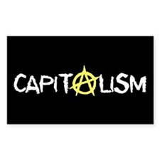 Anarcho-Capitalist Rectangle Decal