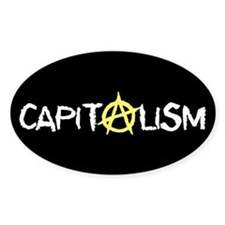 Anarcho-Capitalist Oval Decal