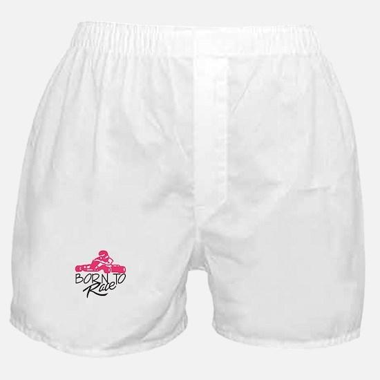 Born To Race Boxer Shorts