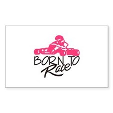 Born To Race Decal