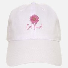 Girl Power Daisy Baseball Baseball Cap
