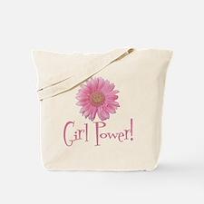 Girl Power Daisy Tote Bag