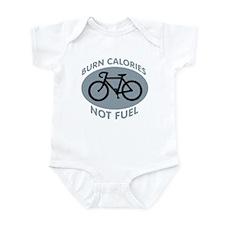 BURN CALORIES NOT FUEL Infant Bodysuit