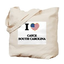 I love Cayce South Carolina Tote Bag