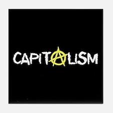 Anarcho-Capitalist Tile Coaster