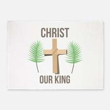 Christ Our King 5'x7'Area Rug