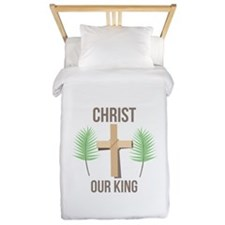 Christ Our King Twin Duvet