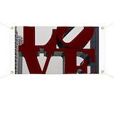 Philadelphia love Banners