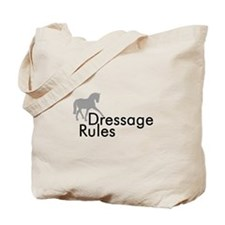 Dressage Rules Sidepass Tote Bag