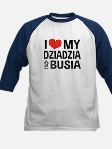 Dziadzia and Busia Kids Baseball Jersey