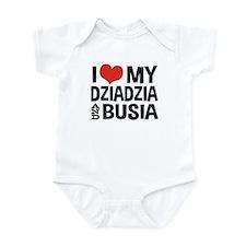 Dziadzia and Busia Infant Bodysuit